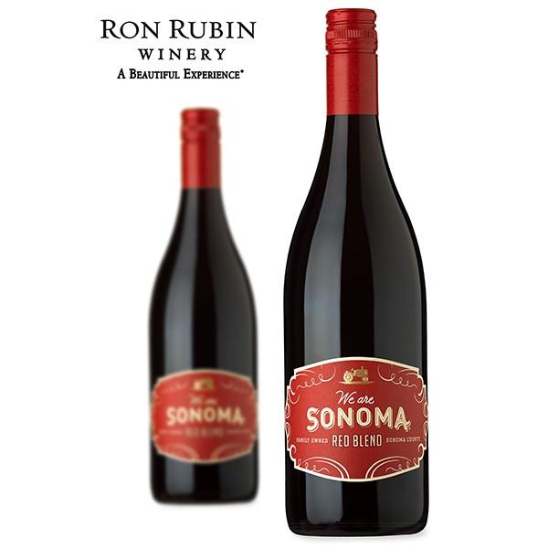 索诺玛半干红混酿葡萄酒